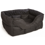 Country Heavy Duty Waterproof Rectangular Drop Front Dog Bed by Pets and Leisure