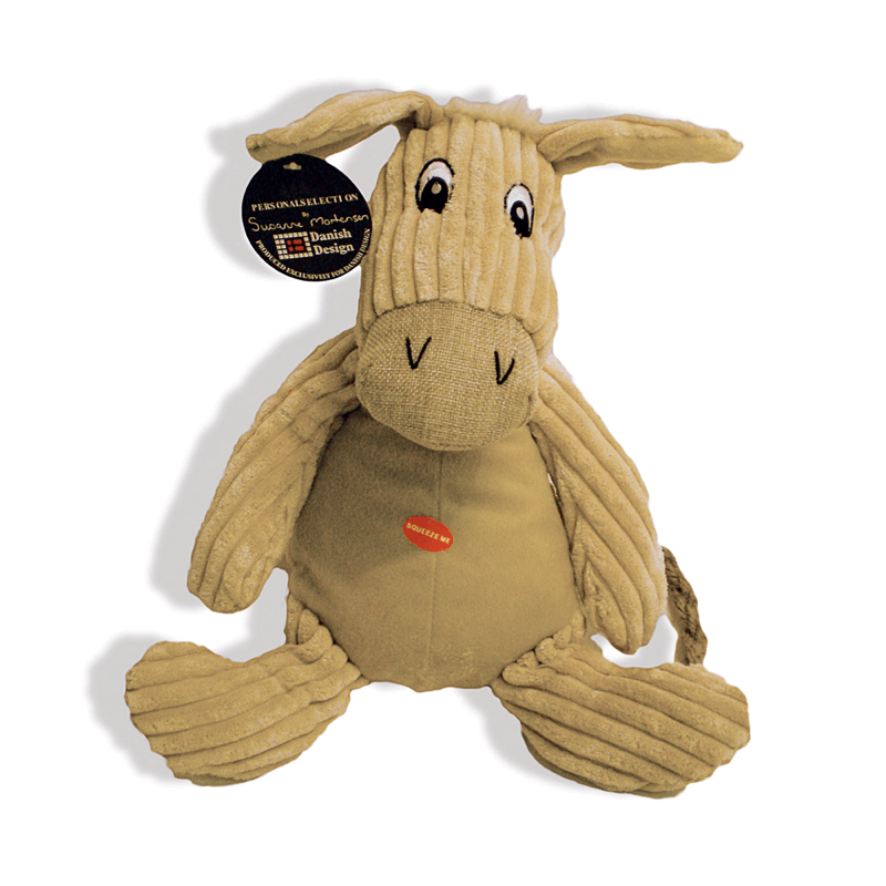Doris the Donkey Plush Dog Toy