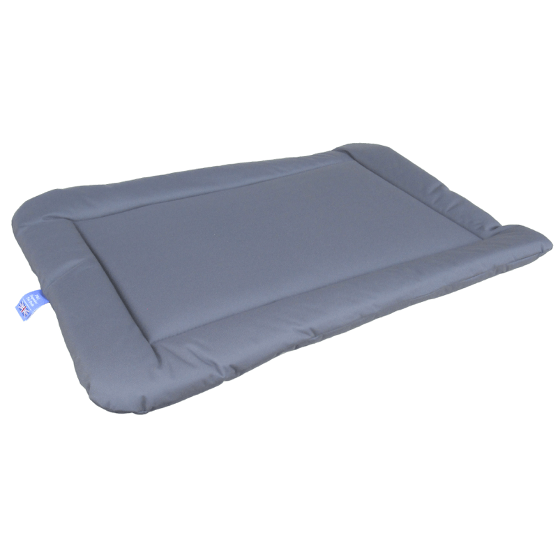 Grey Country Heavy Duty Waterproof Crate Mat Dog Bed