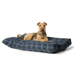 Lumberjack Navy and Grey Box Duvet Spare Cover by Danish Design