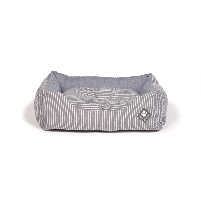 Maritime Blue Snuggle Dog Bed