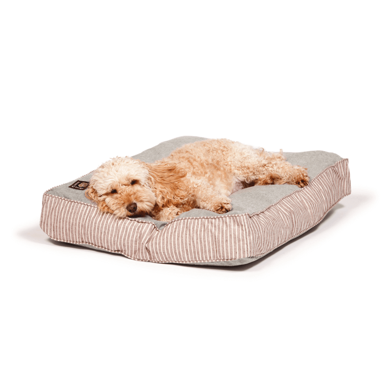 Maritime Green Box Duvet Dog Bed