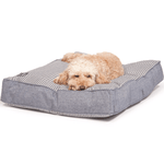 Maritime Blue Box Duvet Dog Bed