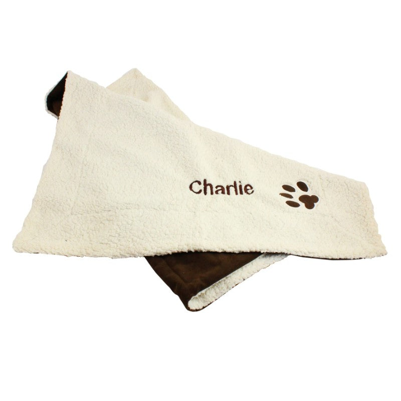 Personalised Luxury Dog Blanket