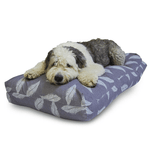 Retreat Grey & Duck Egg Memory Foam Dog Bed by Danish Design