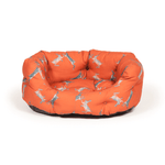 Woodland Range Boxing Hares Deluxe Slumber Dog Bed by Danish Design