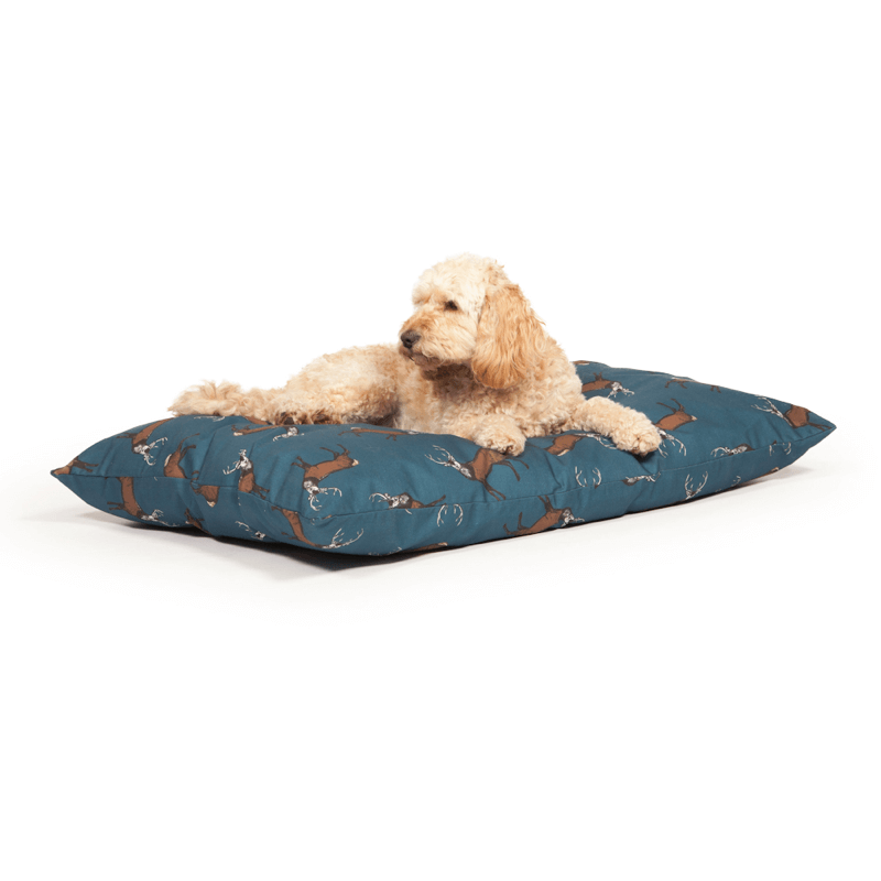 Woodland Range Stag Deep Duvet Dog Bed by Danish Design