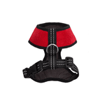 Bowl and Bone Candy Red Dog Harness