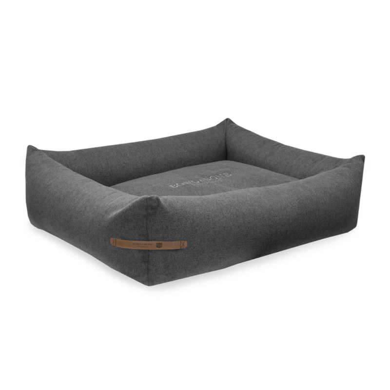 Bowl and Bone Loft Dog Bed in Graphite