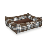 Bowl and Bone Scott Brown Dog Bed