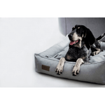 Bowl and Bone Urban Dog Bed in Pale Grey