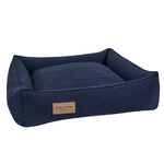 Bowl and Bone Urban Dog Bed in Navy