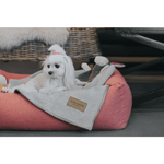Bowl and Bone Zen Grey Dog Blanket