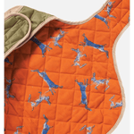 Danish Design Showerproof Quilted Dog Coat in Navy
