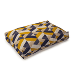 Retreat Geo Tiles Memory Foam Spare Cover by Danish Design