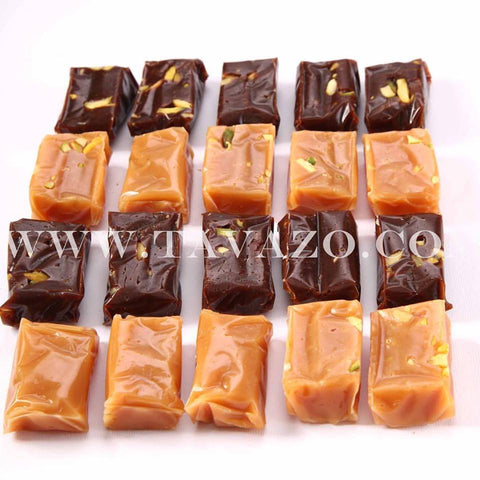 toffee candy from Iran, High quality dried fruits and nuts online. Daily roasted nuts, organic and natural snacks.