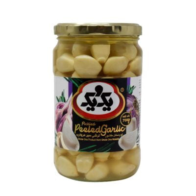 1&1 pickled peeled garlic