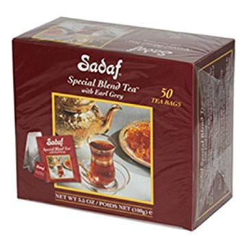Sadaf Special Blend Tea (Tea Bag, Earl Grey)