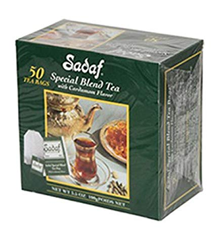 Sadaf Special Blend Tea (Tea Bag, Cardamom) - Tavazo Corporation