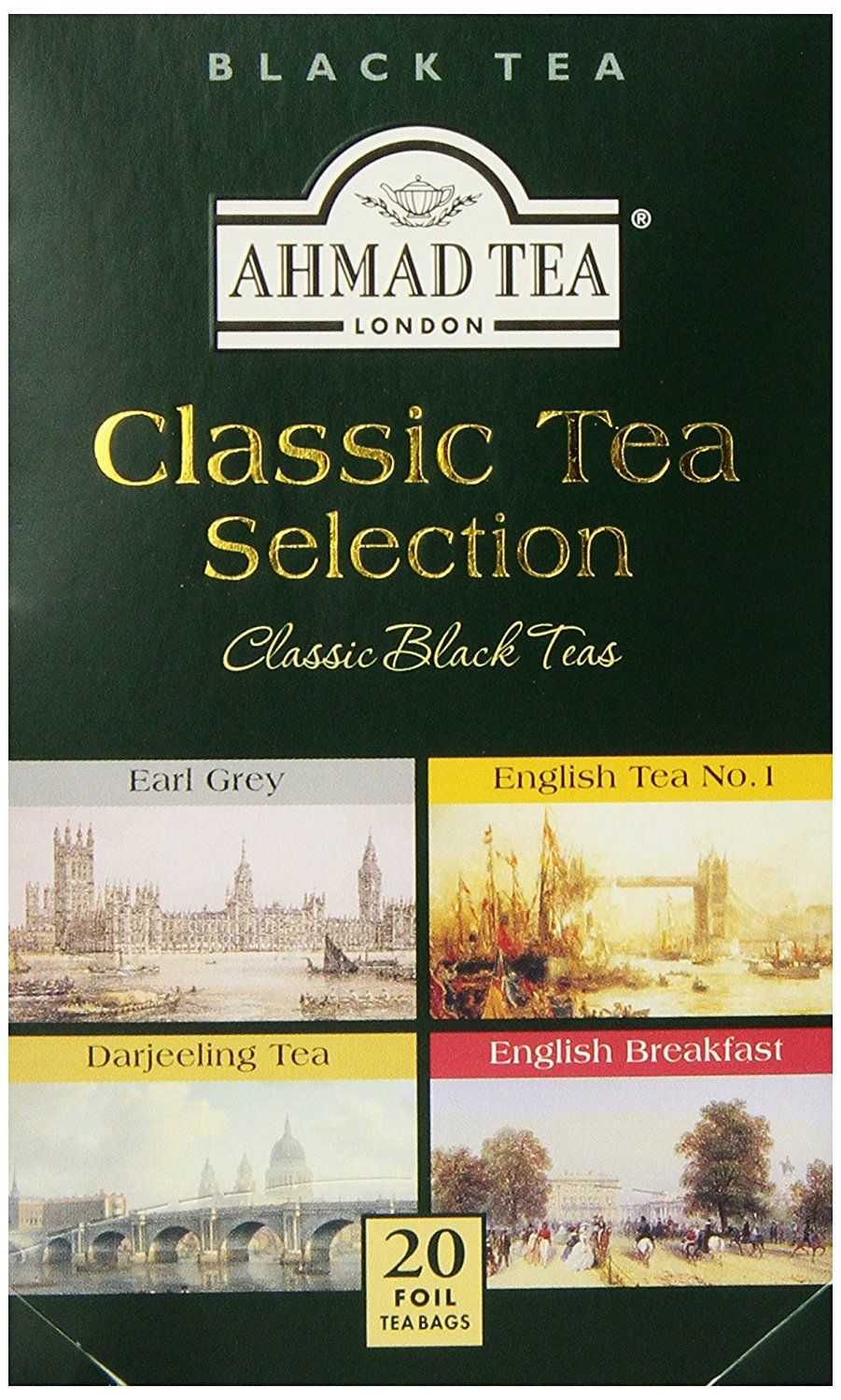 Ahmad tea selection tea pack