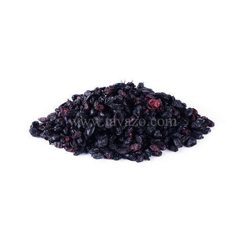 Black dried Barberry. Natural dried fruit has so many health benefits for example for cleansing of liver.
