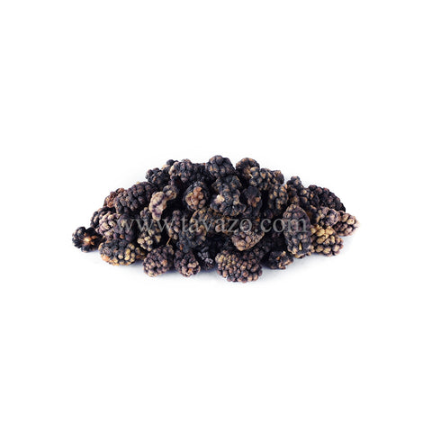 Dried Black Mulberries. Shop organic and natural dried fruits and nuts online.