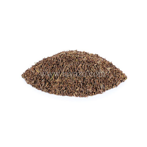 Black cumin seeds, used in savory recipes, like chili, stews, meat, fish, and vegetables