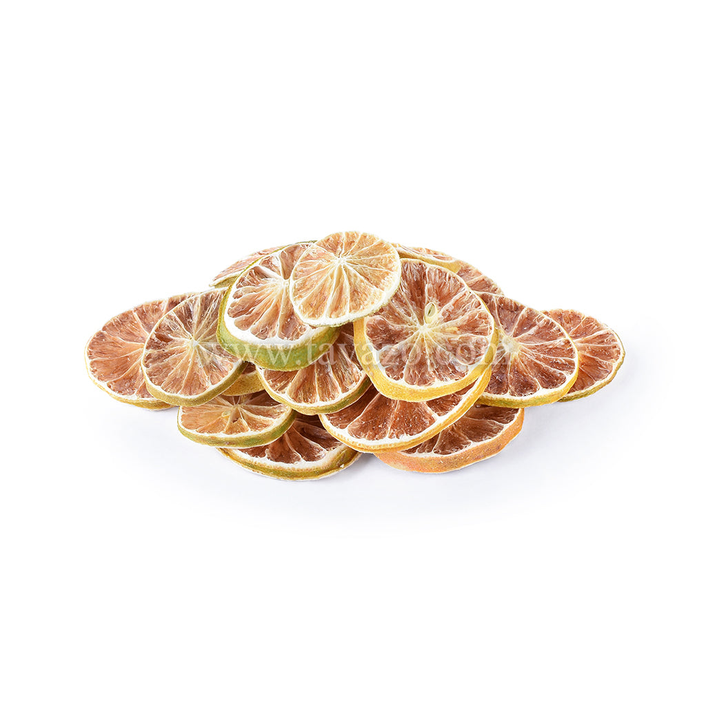 Dried sliced lime used in tea. Organic and natural dried fruits and nuts online.