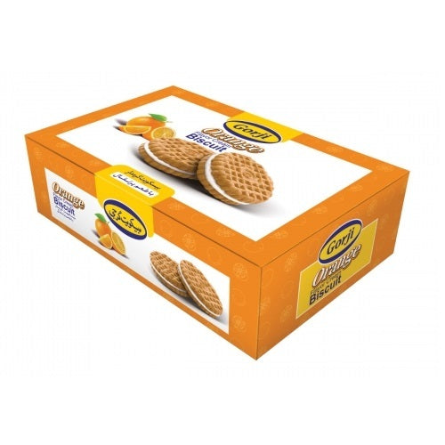 Gorji Orange Flavor Cream Biscuit