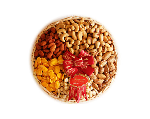 Salted Mix Nuts Small Tray - Tavazo Corporation