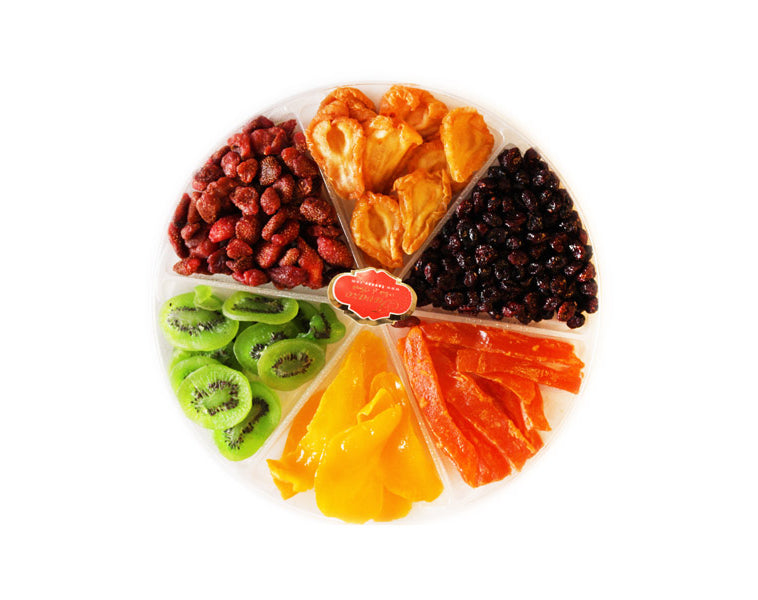 Dried Fruits Round Large Tray - Tavazo Corporation