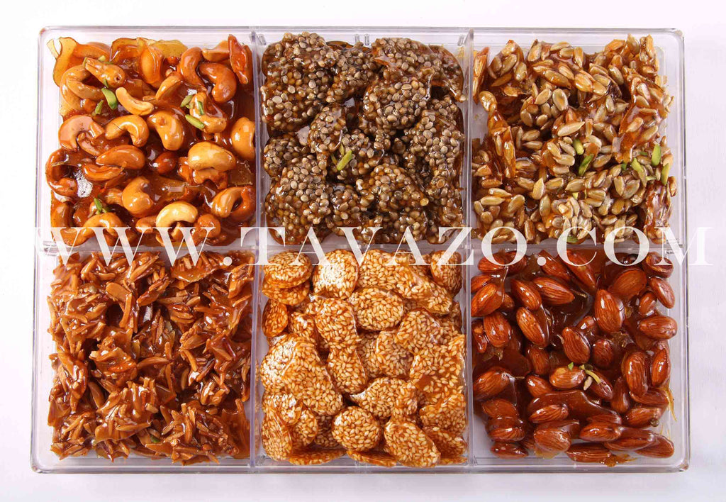 Tavazo Honey Nuts (Mixed Nuts) (6 Kinds) - Tavazo Corporation