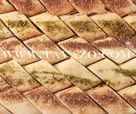 Iranian pastry Kak. Delicious nut pastry with tons of spices. Dried fruits and nuts online.