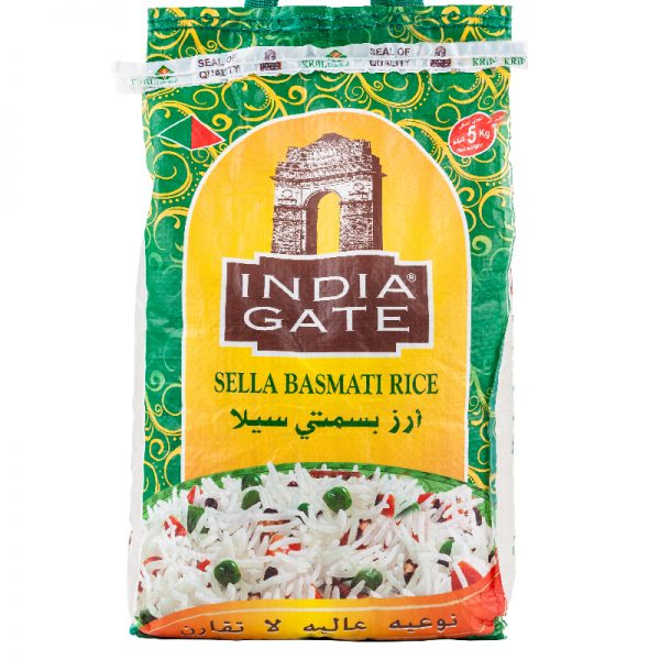 India gate sella basmati rice