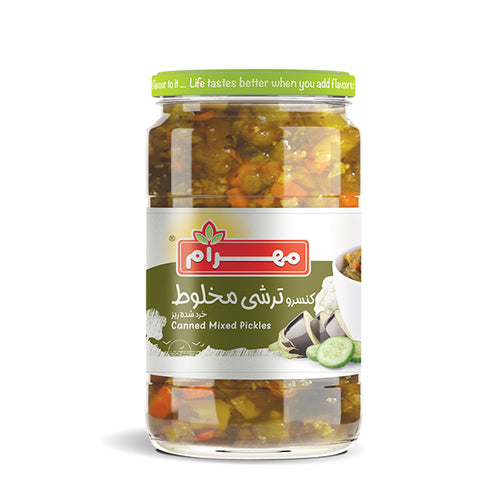 Mahram canned mixed pickles