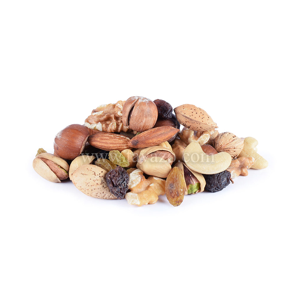 Assorted mixed dried fruits and nuts. High quality products, shop online.