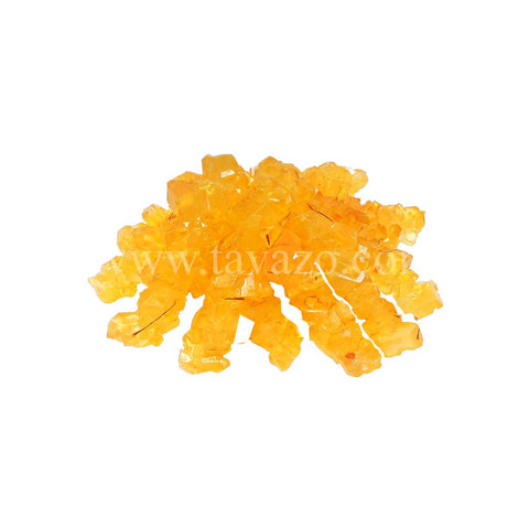 Crystal Sugar Rock Candy Bulk (Saffron)