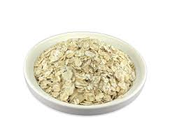Dried oat flakes