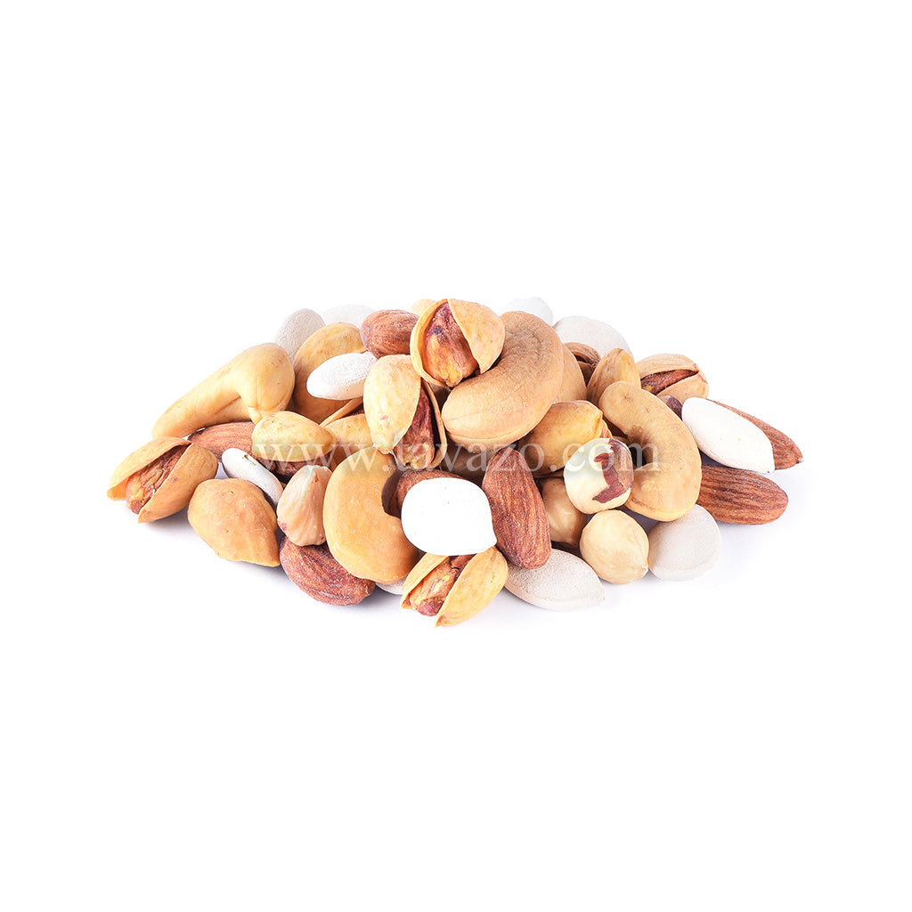 Salted in Shell Mixed Nuts - Tavazo Corporation