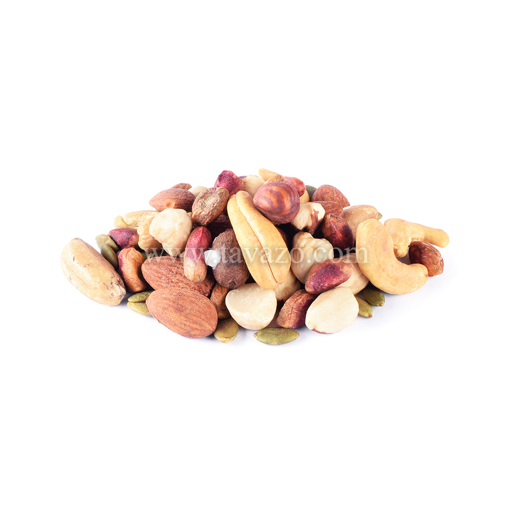 Salted Shelled Mixed Nuts - Tavazo Corporation