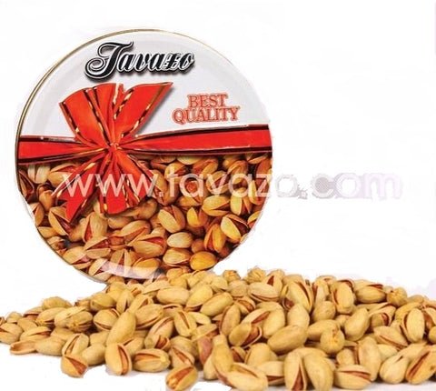 1 Kilogram Salted Pistachio in Tin package - Tavazo Corporation