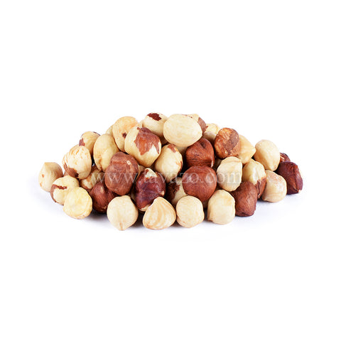 Roasted hazelnuts, delicious snack with tons of fiber and vitamins. Nuts and fruits online