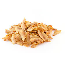 Dried toasted coconut with added sugar