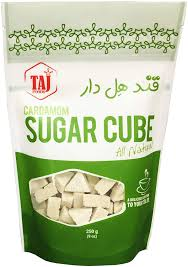 Taj food cardamom sugar cubes
