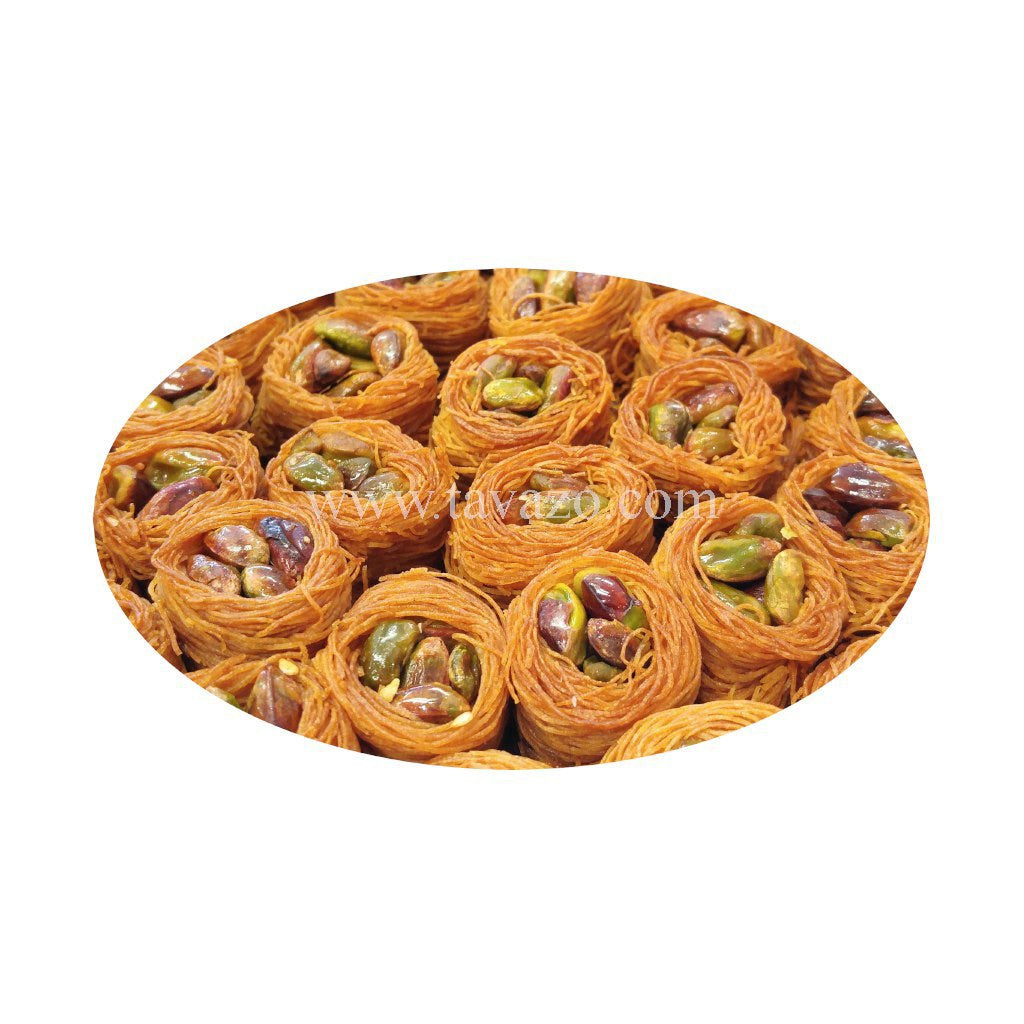 Rashad's mini baklava cookies. Dried nuts and fruits and pastries online.