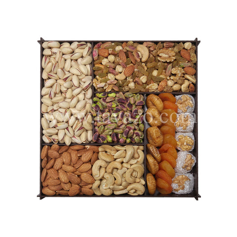 Mix Naturals In Wooden Divider Box - Tavazo Corporation