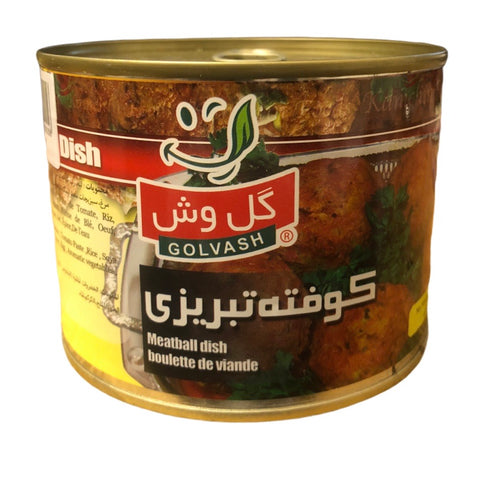 Golvash Canned Meatball - Koofteh Tabrizi