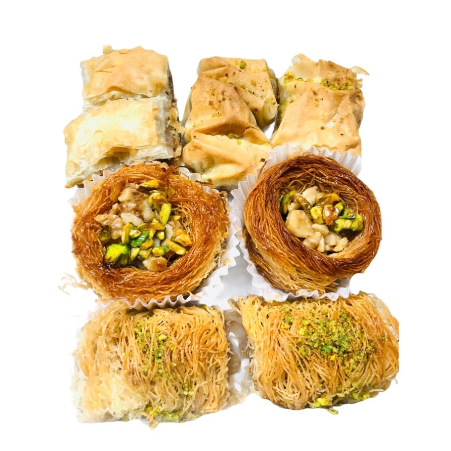 Assorted Homemade Turkish Baklava