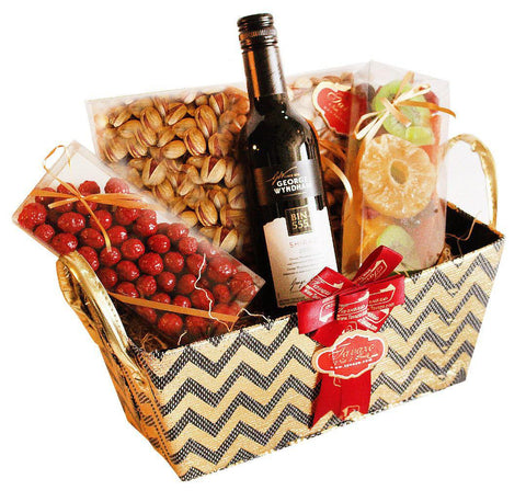 Perfect gift go give. Choose from over 400 items to put in your gift basket.