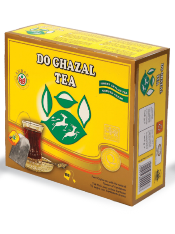 Do Ghazal Tea Bag (Cardamom) - Tavazo Corporation